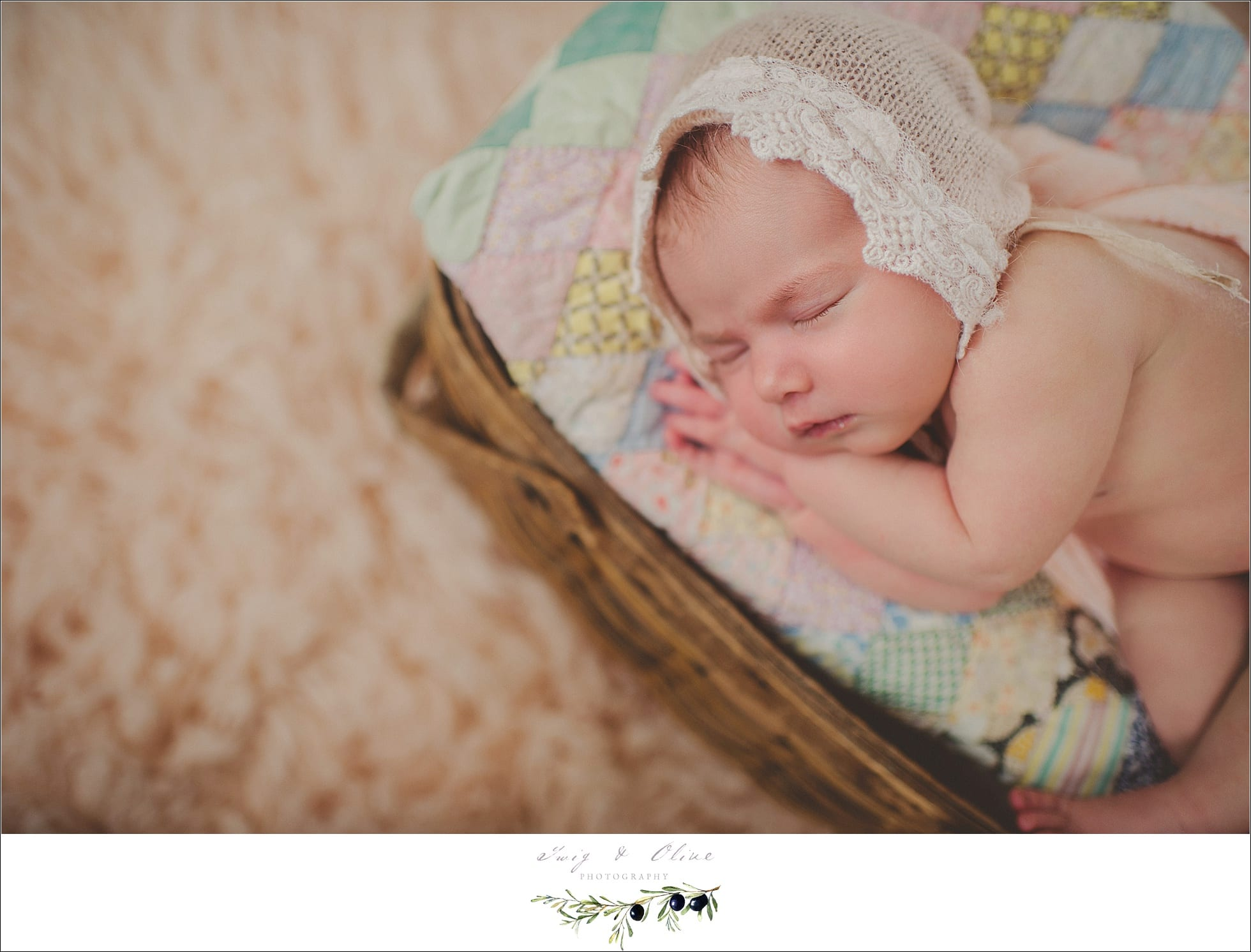 bonnets and babies, baskets, quilts, angel