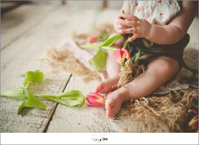 6 month child photography session