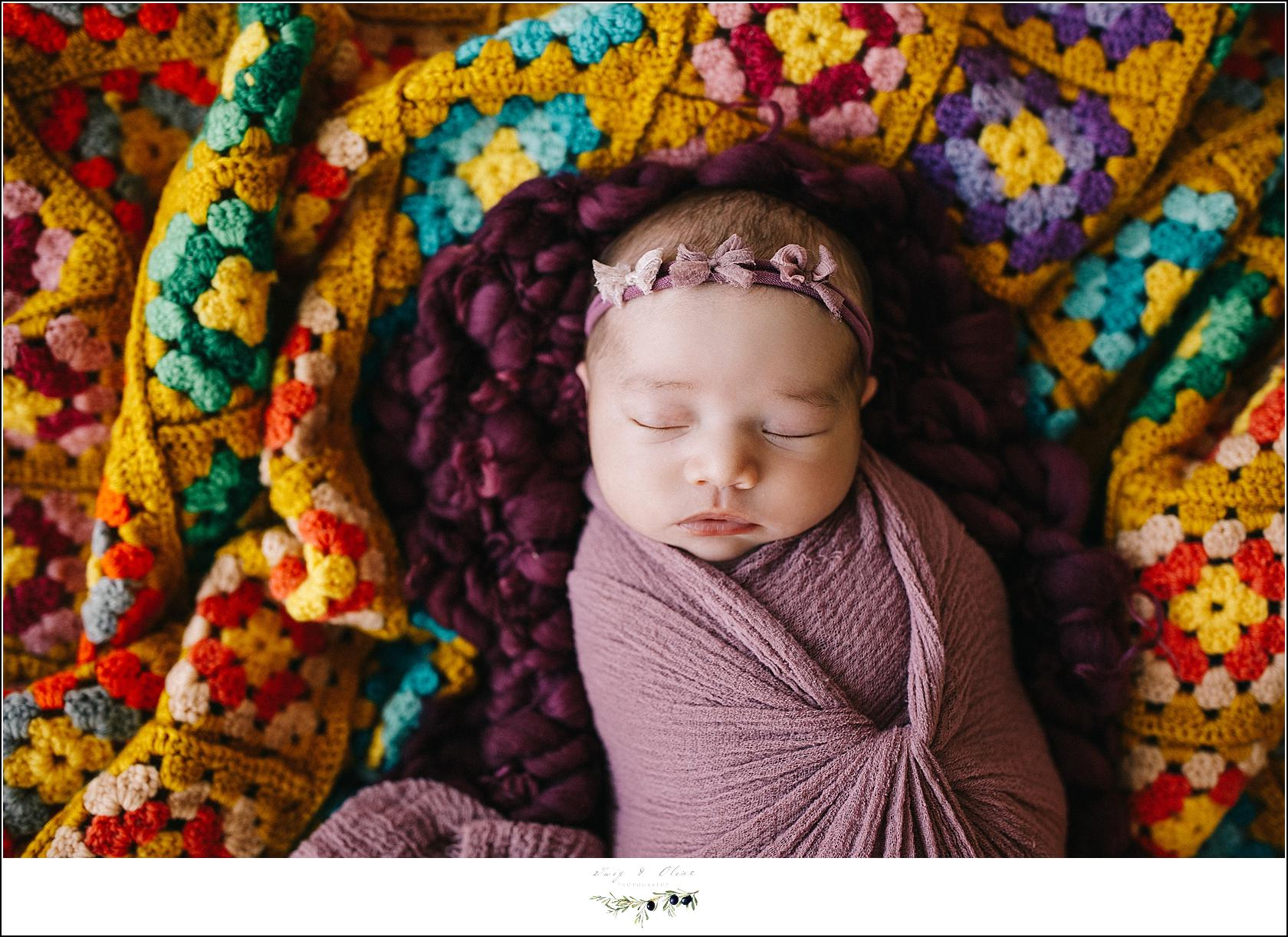 Newborn Photography Model