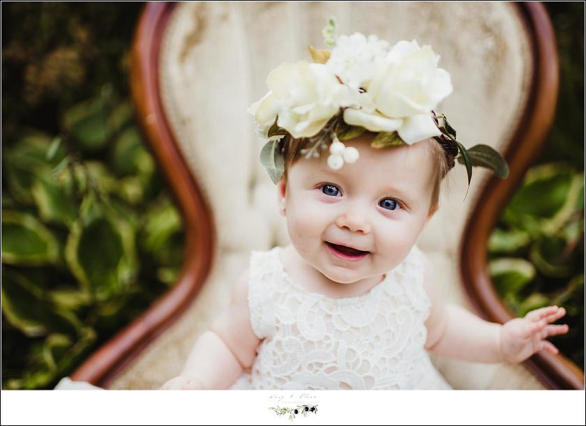 Baby Girl Flower Crown